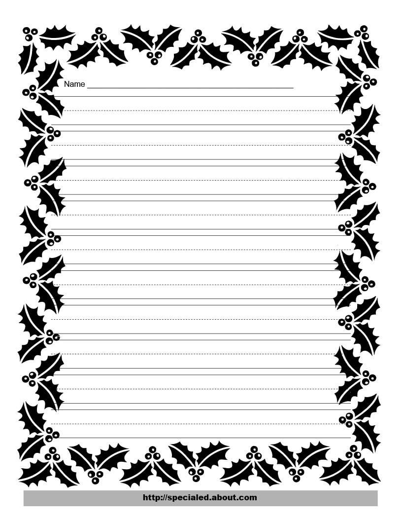 Free Free Printable Border Designs For Paper Black And White - Free Printable Border Paper