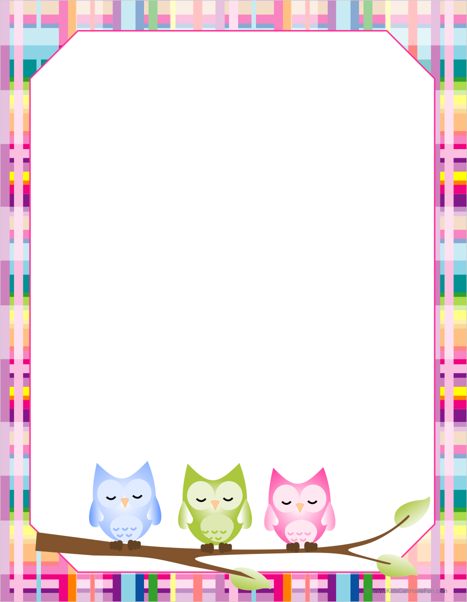 Free Free Printable Border Designs For Paper, Download Free Clip Art - Free Printable Page Borders