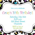 Free Free Printable Bowling Party Invitation Templates, Download   Free Printable Zebra Print Birthday Invitations