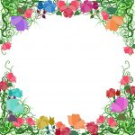 Free Free Printable Floral Borders And Frames, Download Free Clip   Free Printable Borders
