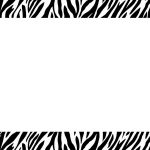 Free Free Zebra Borders, Download Free Clip Art, Free Clip Art On   Zebra Invitations Printable Free