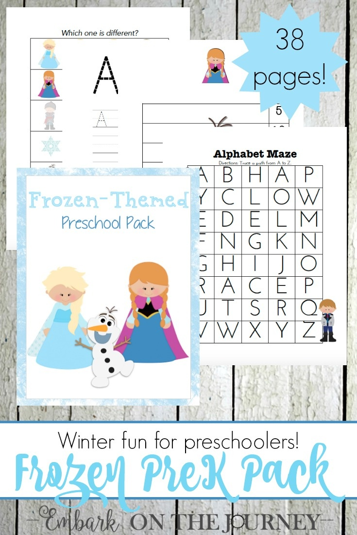Free Frozen Printable And Activities - Free Printable Learning Pages