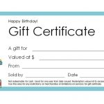 Free Gift Certificate Templates You Can Customize   Free Printable Photography Gift Certificate Template