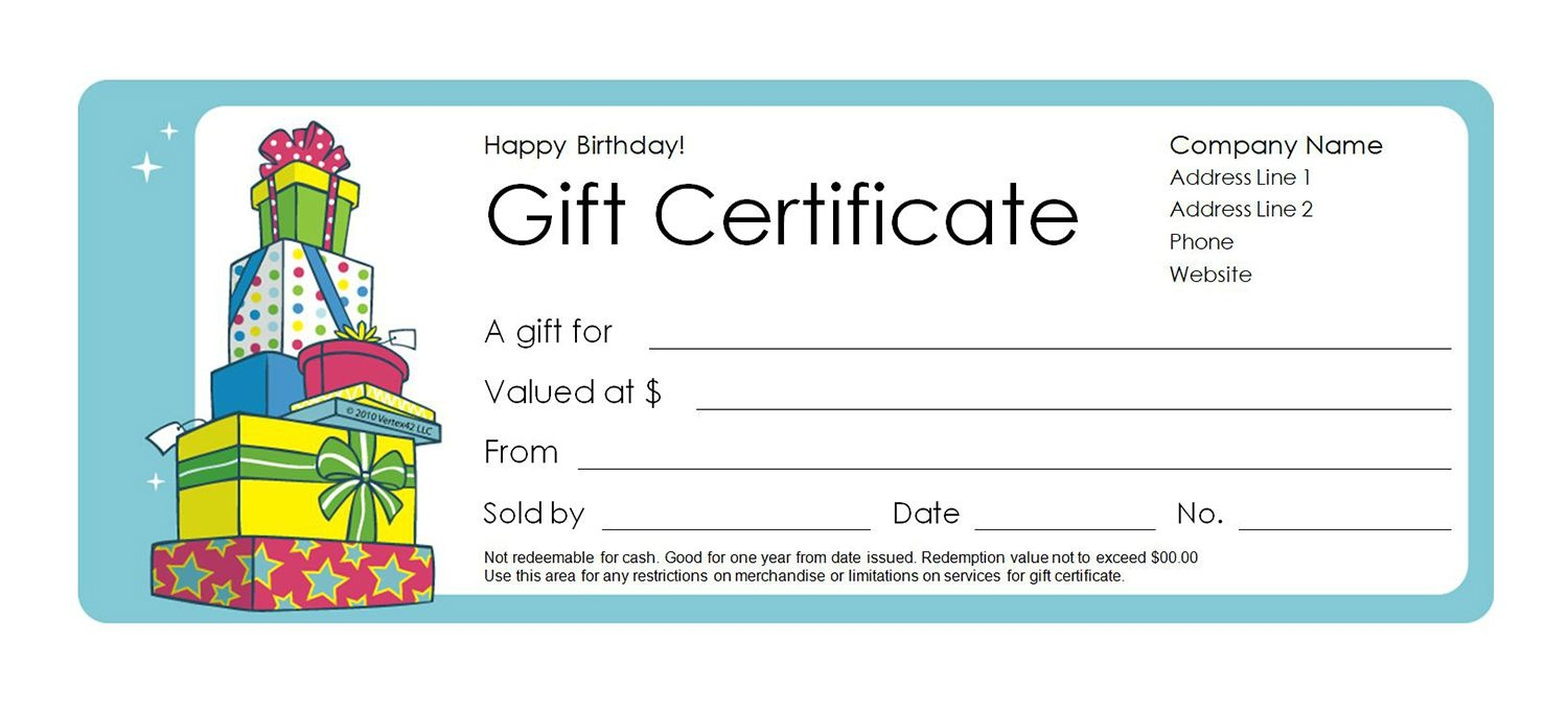 Free Gift Certificate Templates You Can Customize - Free Printable Photography Gift Certificate Template