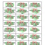 Free Gift Exchange Game Printable | Holiday Games | Christmas Games   Free Holiday Games Printable