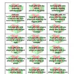 Free Gift Exchange Game Printable | Party Ideas | Christmas Gift   Free Holiday Games Printable