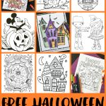Free Halloween Coloring Pages For Adults & Kids   Happiness Is Homemade   Free Printable Charlie Brown Halloween Coloring Pages