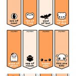 Free Halloween Printables | Halloween | Kawaii Halloween, Halloween   Free Printable Tic Tac Labels