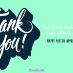 Free Happy Clergy Appreciation Day! Ecard   Email Free Personalized   Pastor Appreciation Cards Free Printable