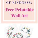 Free Inspirational Printable Wall Art | Edifying Blog Posts   Free Printable Christian Art