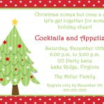 Free Invitations Templates Free | Free Christmas Invitation   Free Printable Christmas Party Flyer Templates
