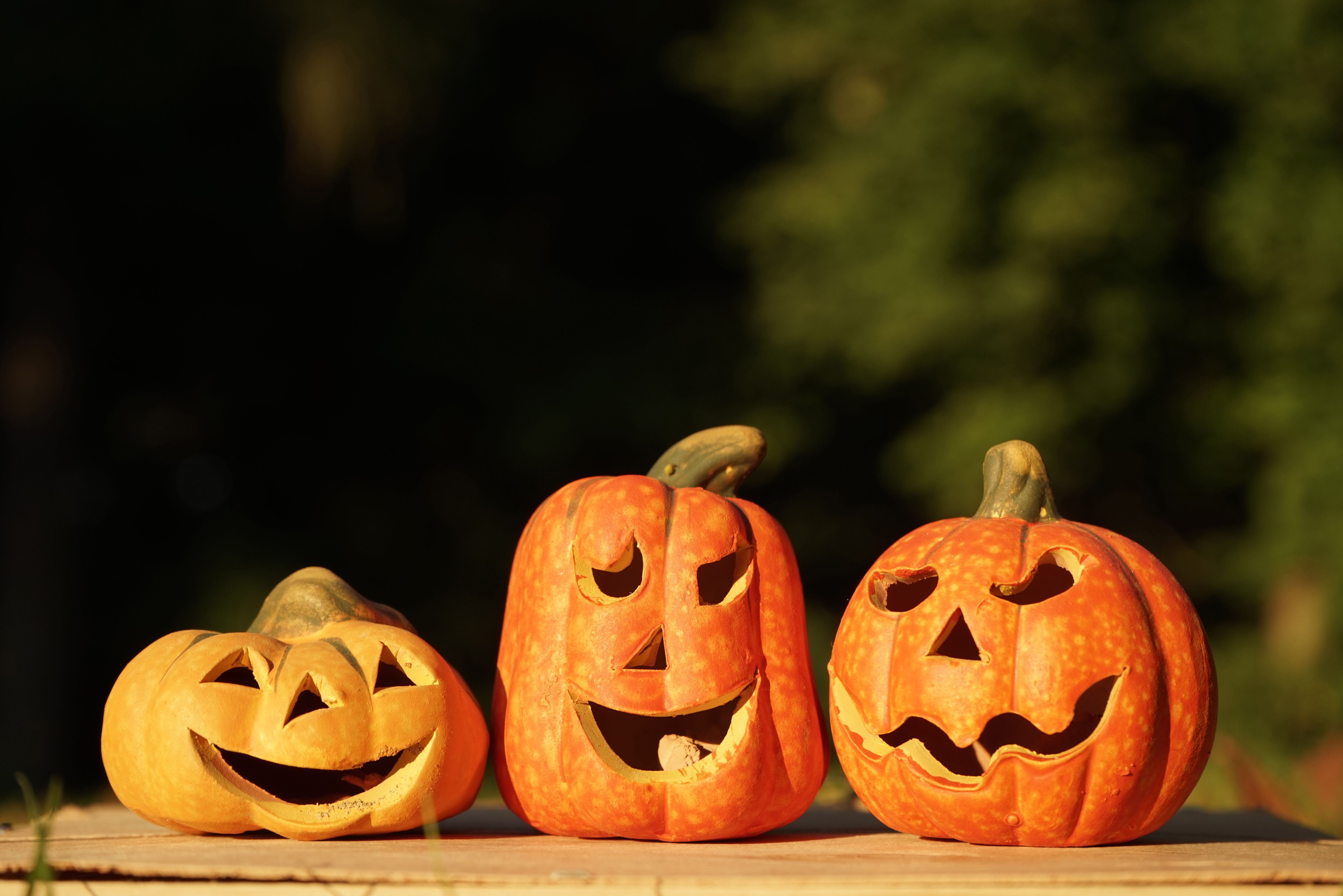 Free Jack-O'-Lantern Patterns: Printable Templates - Scary Pumpkin Stencils Free Printable