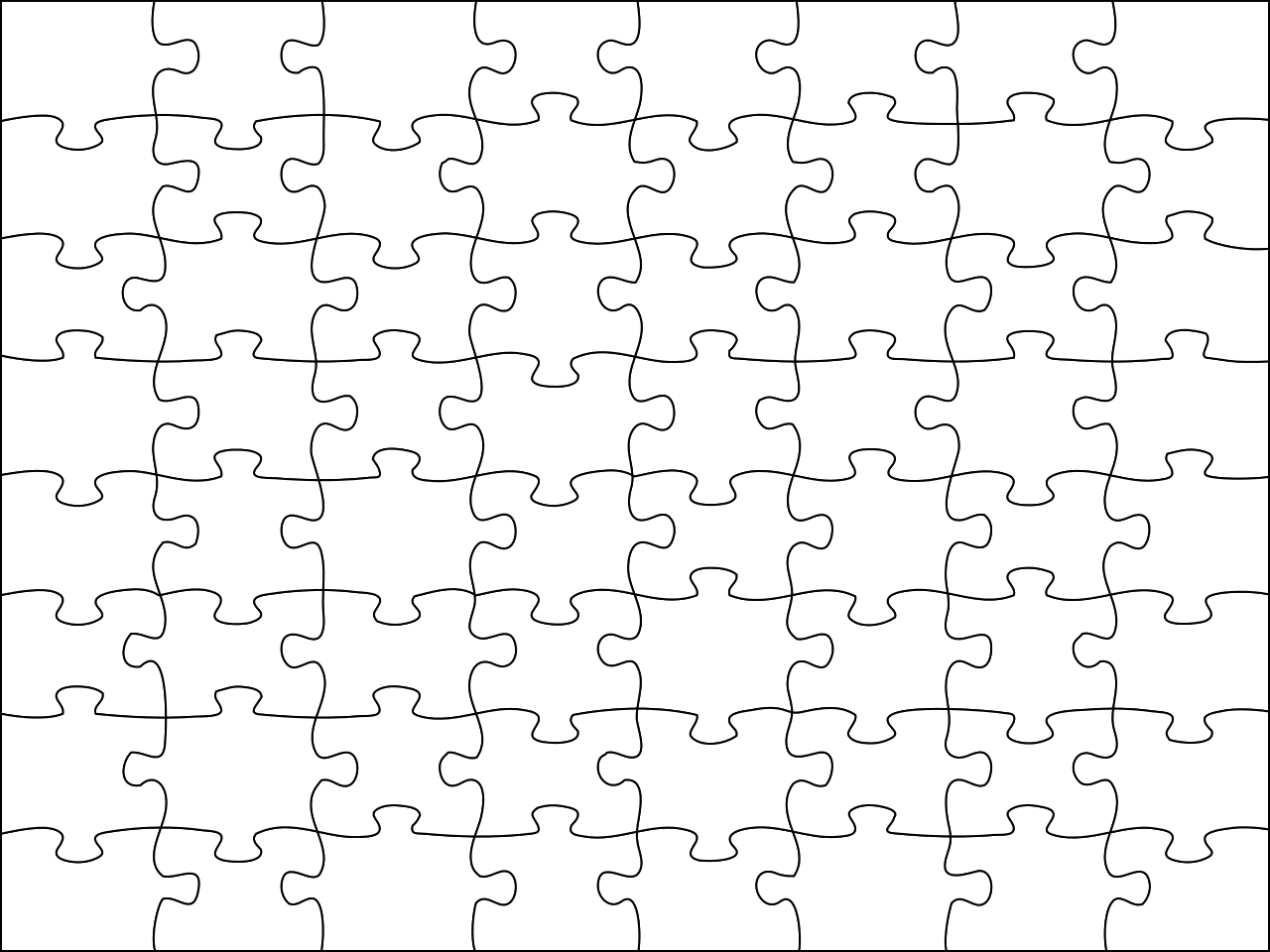 Free Jigsaw Puzzle, Download Free Clip Art, Free Clip Art On Clipart - Jigsaw Puzzle Maker Free Printable