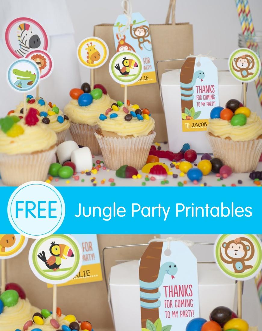 Free Jungle Party Invitation Printables - Free Jungle Printables