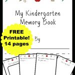 Free Kindergarten Memory Book (Homeschool Edition | Best Of Mrs   Free Printable Memory Book Templates