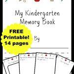 Free Kindergarten Memory Book (Homeschool Edition | Best Of Mrs   Free Printable Memory Book Templates