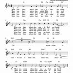 Free Lead Sheet – Were You There In 2019 | Gospel Music | Lead Sheet   Free Printable Christian Music Lyrics