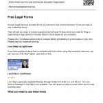 Free Legal Forms Fill Online, Printable, Fillable, Blank   Free Legal Forms Online Printable