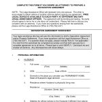 Free Legal Separation Agreement Form Nc Nc Office Of The State   Free Printable Divorce Papers For North Carolina
