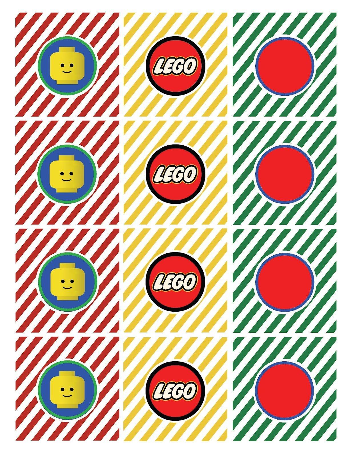 Free Lego Printables | Lego Straw Flag Says Drink Me Lego Tented - Free Lego Printables