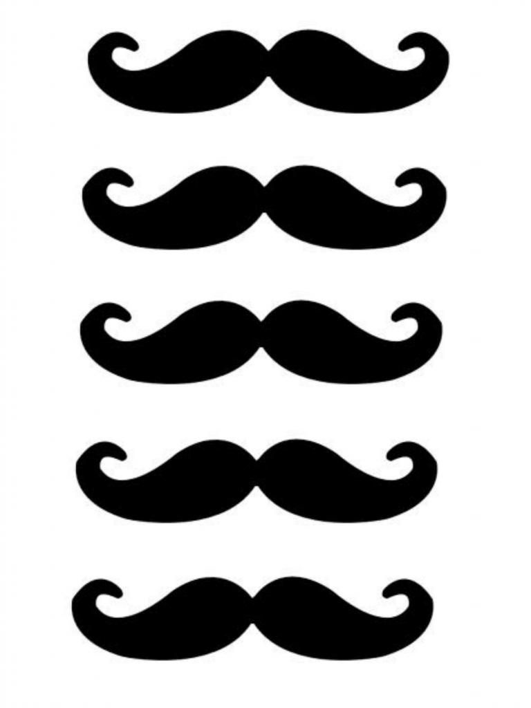 Free Lip And Mustache Printables: Photo Booth Props | Crafts | Photo - Free Lip And Mustache Printables