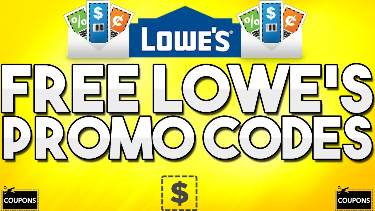 Free Lowe's Promo Codes! (Generator) - Youtube - Free Printable Lowes Coupons