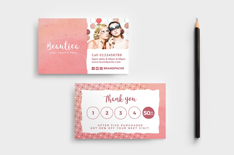 Free Loyalty Card Templates - Psd, Ai & Vector - Brandpacks - Free Printable Loyalty Card Template