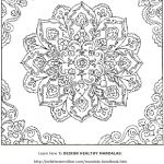 Free Mandala Coloring Book Printable Pages | Coloring For Adults   Free Mandalas To Colour In Printable