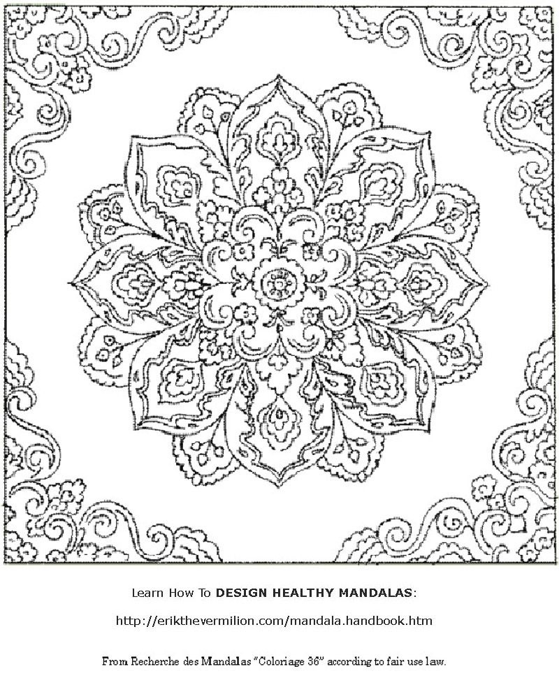 Free Mandala Coloring Book Printable Pages | Coloring For Adults - Free Mandalas To Colour In Printable
