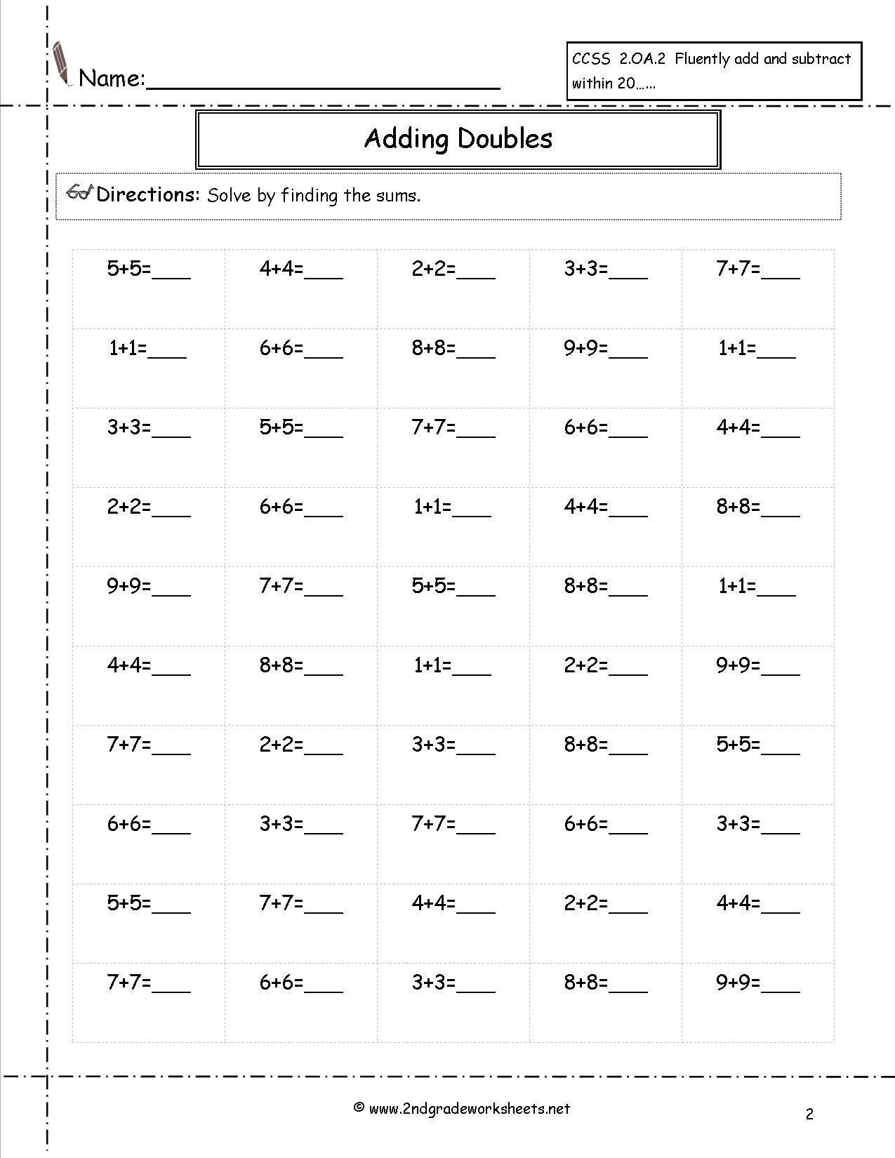 Free Math Worksheets And Printouts - K5 Learning Free Printable Worksheets