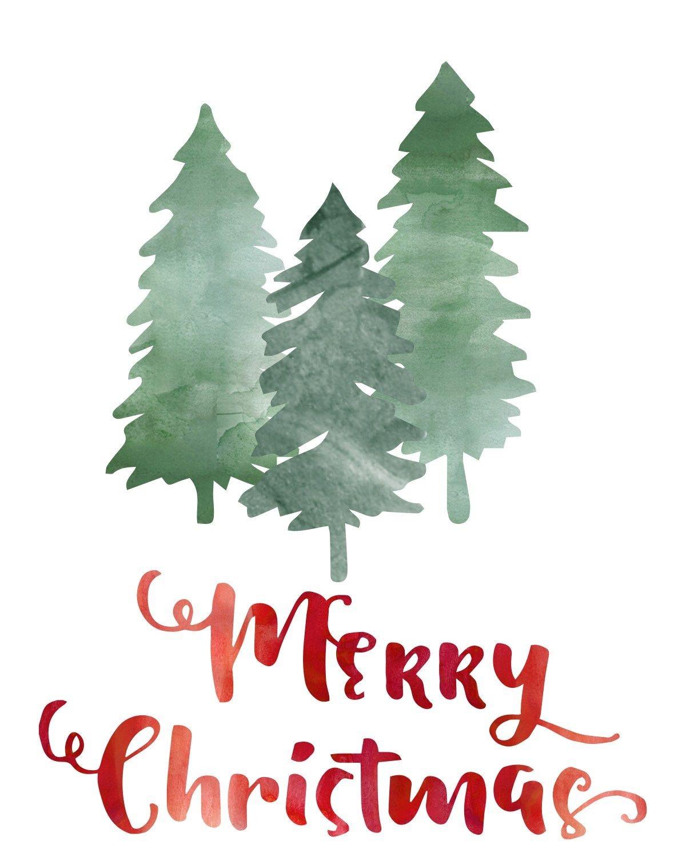 """Free """"merry Christmas"""" Printable At Thedomesticheart - Free Christmas Printables"""