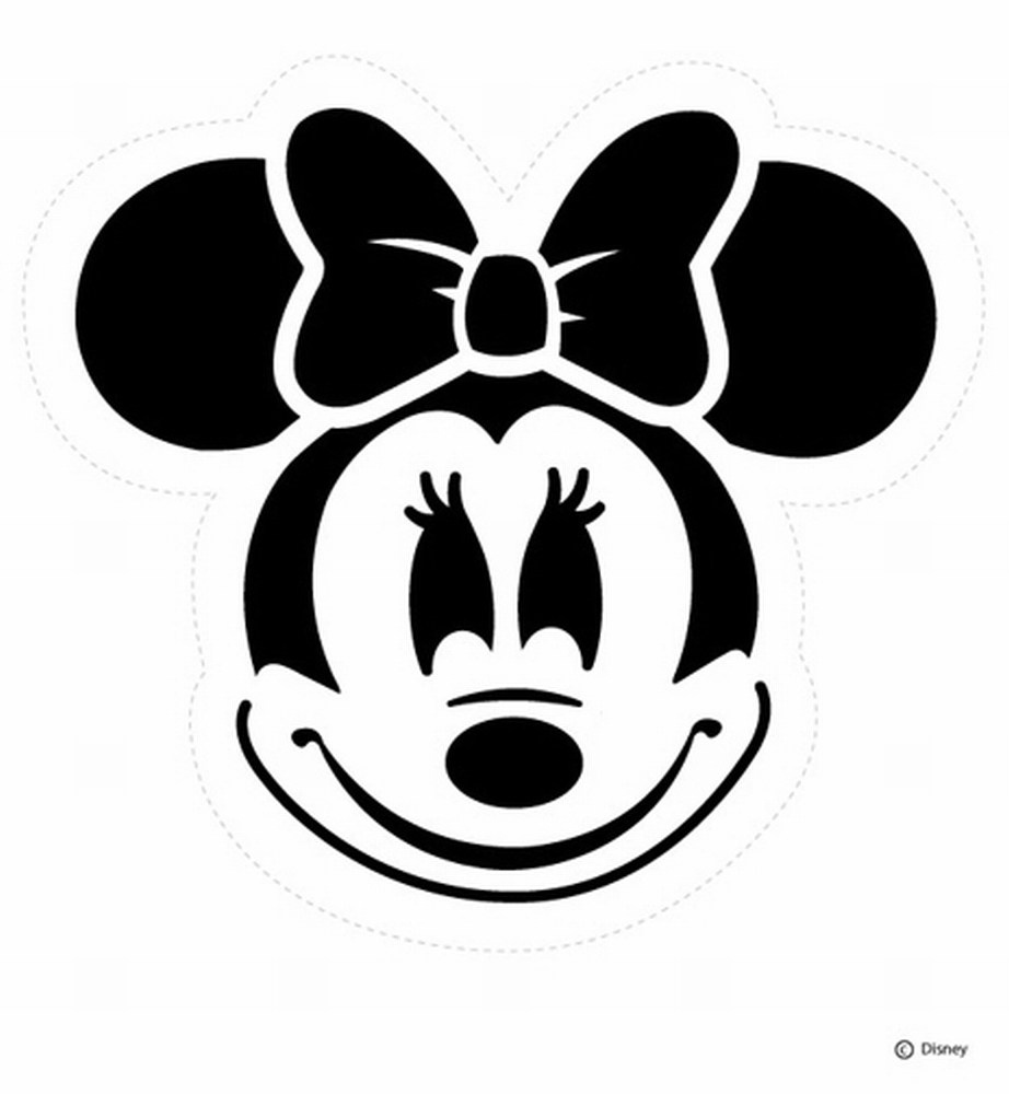 Free Mickey Mouse Free Stencils, Download Free Clip Art, Free Clip - Free Printable Lightning Mcqueen Pumpkin Stencil