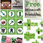 Free Minecraft Printables | Minecraft Stickers | Minecraft   Free Minecraft Printables