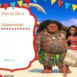 Free Moana Birthday Invitation Template | Zoey 4Th Birthday | Moana   Free Printable Moana Birthday Invitations