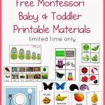 Free Montessori Baby & Toddler Printable Materials | Montessori   Free Montessori Printables