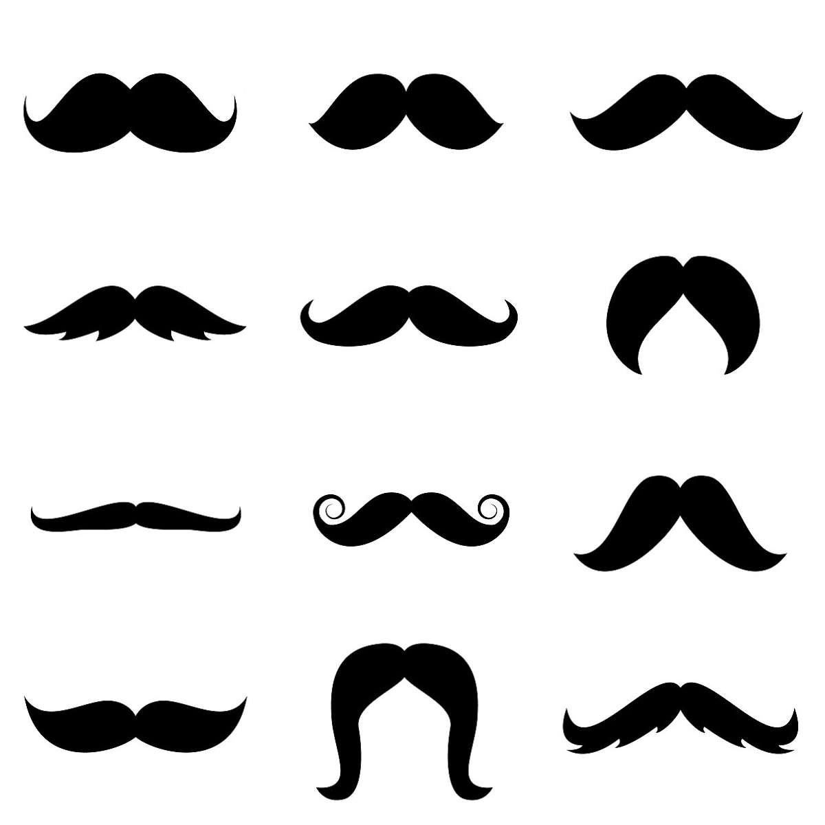 Free Mustache Cliparts Printables, Download Free Clip Art, Free Clip - Free Lip And Mustache Printables