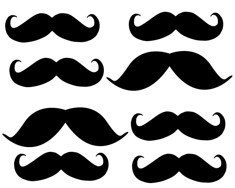 Free Mustache Printables, Download Free Clip Art, Free Clip Art On - Free Lip And Mustache Printables