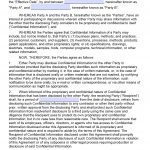 Free Mutual Non Disclosure Agreement (Nda) | Pdf | Word (.docx)   Free Printable Non Disclosure Agreement Form