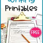 Free Narrative Writing Prompt For Paragraph And Essay | Grades 3 6   Free Printable Writing Prompts For Middle School