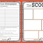 Free Newspaper Template For Kids Printable | School Ideas   Free Printable Newspaper Templates For Students
