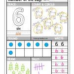 Free Number Of The Day Worksheets!! Free Printable Number Of The Day   Free Printable Number Of The Day Worksheets