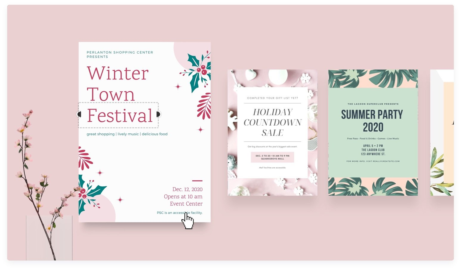 Free Online Flyer Maker: Design Custom Flyers With Canva - Free Printable Landscaping Flyers