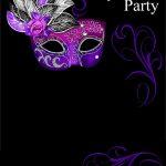 Free Online Masquerade Invitation | Invitations Online   Free Online Printable Invitations