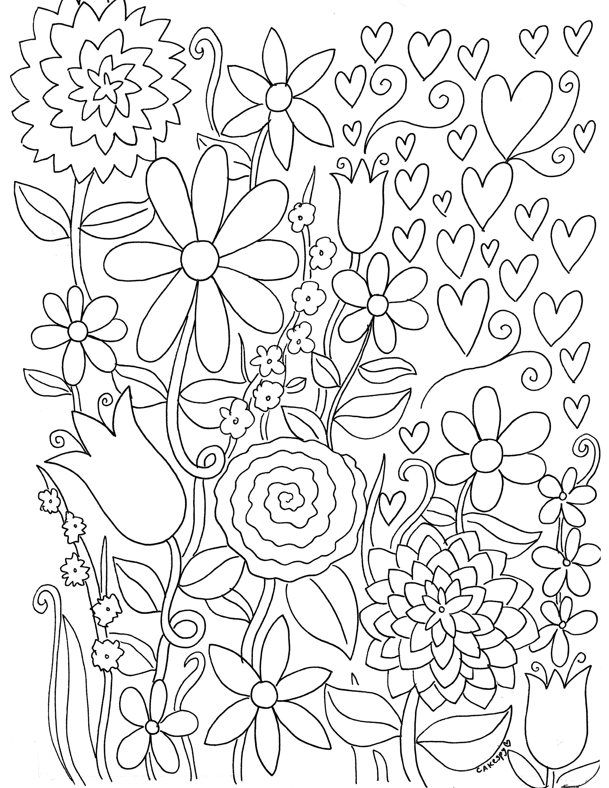 Free Paintnumbers For Adults Downloadable | *printable Art - Free Printable Coloring Book Download