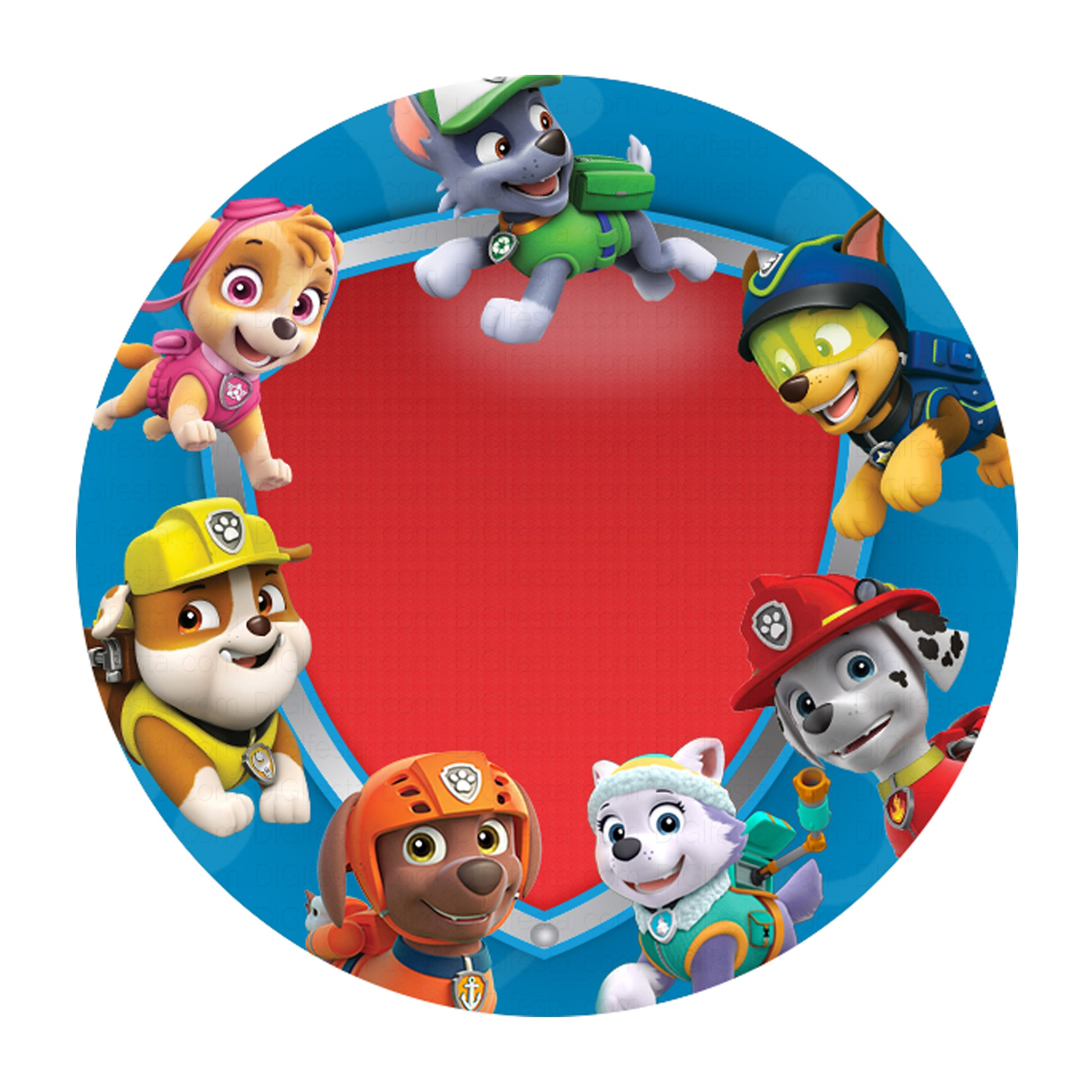 Free Paw Patrol Invitation To Edit And Print - Birthday Printables - Free Paw Patrol Birthday Printables