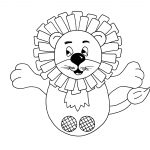 Free Pdf   Lion Finger Puppet | Felt | Finger Puppets, Glove Puppets   Free Printable Finger Puppet Templates