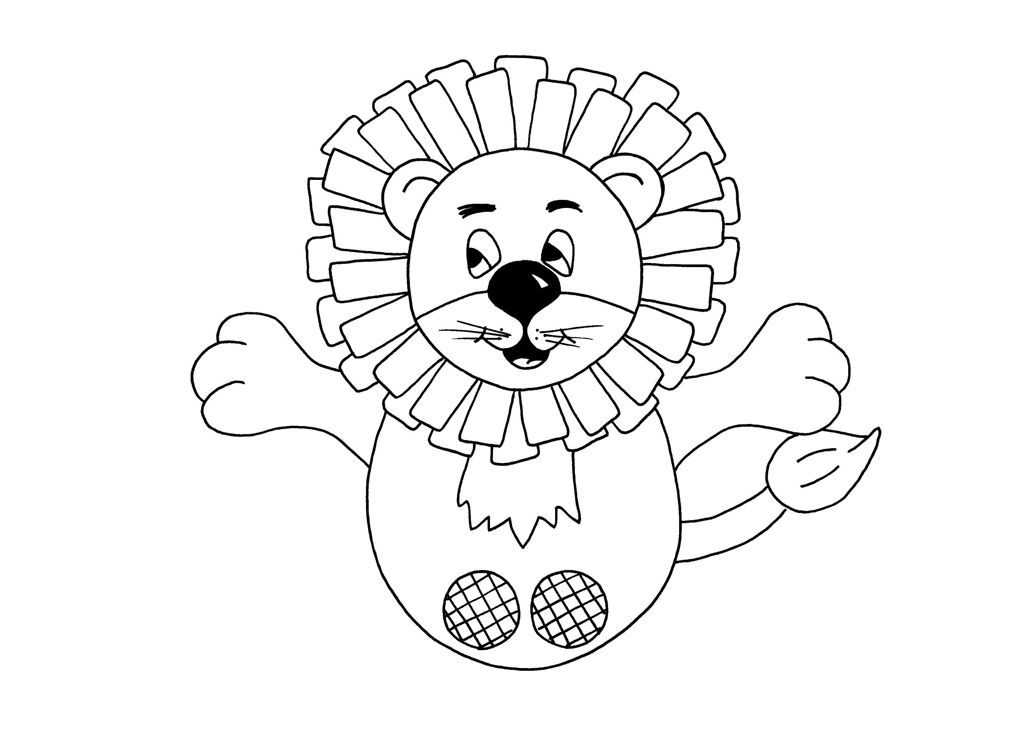 Free Pdf - Lion Finger Puppet | Felt | Finger Puppets, Glove Puppets - Free Printable Finger Puppet Templates