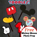 Free Photo Props Mickey Mouse Printable & Templates   4Th Birthday   Free Printable Mickey Mouse Template