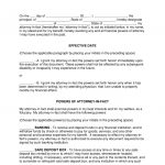 Free Power Of Attorney Forms   Word | Pdf | Eforms – Free Fillable Forms   Free Printable Power Of Attorney Forms