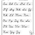 Free Print Alphabet Letter Worksheets |  – Free Abc's Printable   Free Printable Worksheets Handwriting Practice